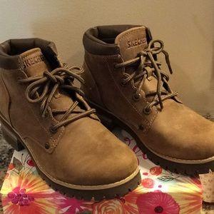 Women's Skechers Leather Boots